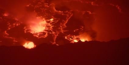 Vulkan,Ostkongo,Nyiragongo